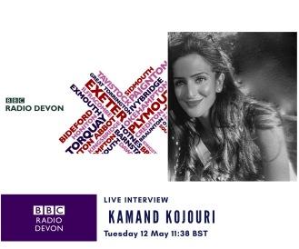 BBC Radio Devon - Kamand Kojouri