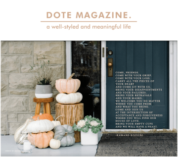 Dote Magazine Issue 7 - Kamand Kojouri