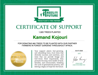 Trees Donation - Kamand Kojouri 2020